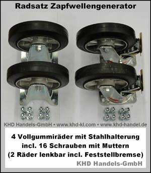 Radsatz Zapfwellengeneratoren