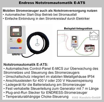 Notstromautomatik mit E-ATS