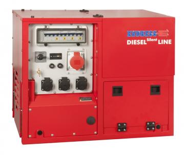Stromerzeuger ESE 608 DHG ES DI ISO DUPLEX Silent