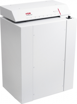 HSM ProfiPack 425 Karton-Perforator mit Adaptionssatz für Staubabsaugung