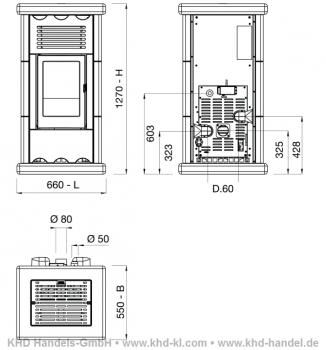 pellet fen bis 10 kw f r mehrere r ume. Black Bedroom Furniture Sets. Home Design Ideas