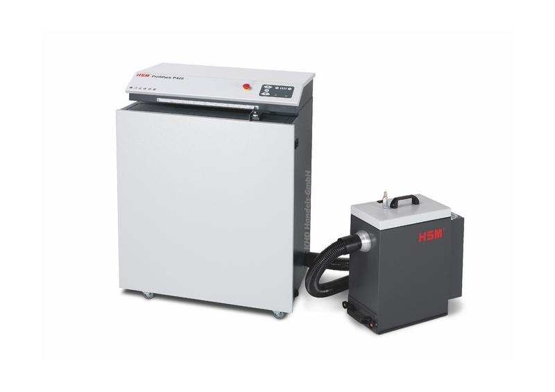 HSM ProfiPack P425 - 400 Volt mit Entstauber DE 1-8