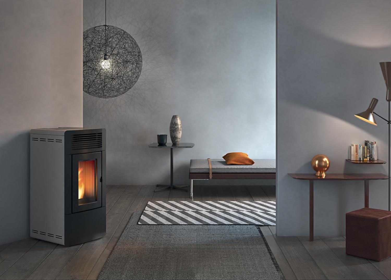 pelletofen red malva multiair. Black Bedroom Furniture Sets. Home Design Ideas